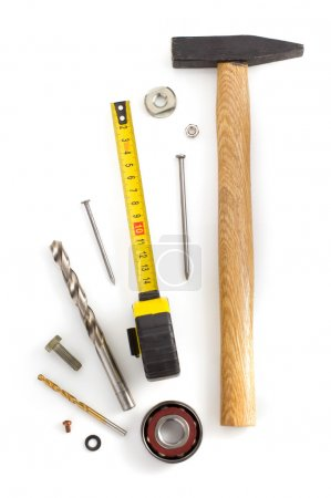 Set of tools and instruments