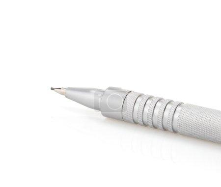 Pen on white background