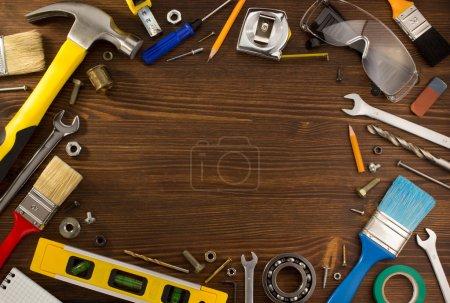 tools and instruments set