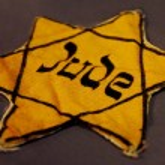 Yellow Jewish badge of shame....