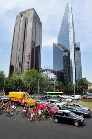 Paseo de la Reforma in Mexico City