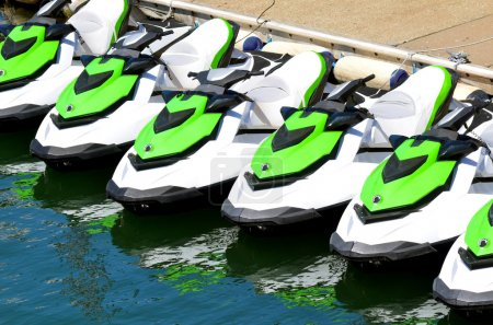 Personal watercraft outdoors