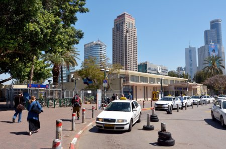 Tel Aviv Savidor Central Railway Station