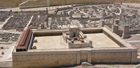 Deuxième modèle de temple de l'ancienne Jérusalem - Israël