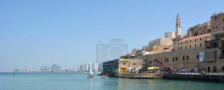 Old Jaffa city port in Tel Aviv
