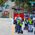 SAN FRANCISCO - MAY 17 2015:Segway PT tours in San...