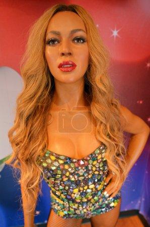 Beyonce Giselle KnowlesCarter wax figure