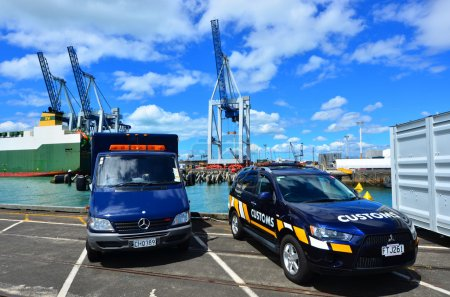 New Zealand Customs Service vehicles
