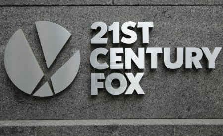 21st Century Fox logo in New York