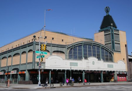 Stillwell Avenue subway station in Coney Island