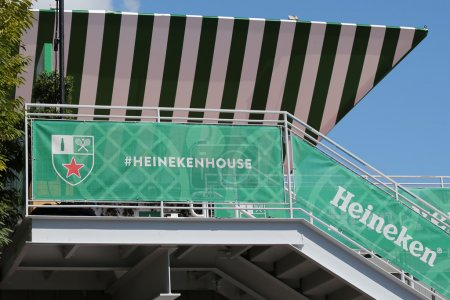 Third largest brewer in the world Heineken International opens Heineken Beer House at Billie Jean King Tennis Center during US Open 2014