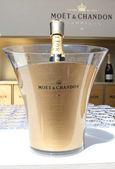 Moet a chandon šampaňské prezentovaných na Národní tenisové centrum nás otevřené 2014