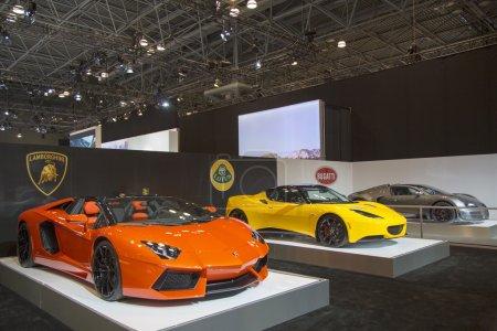 Lamborghini Lotus and Bugatti luxury