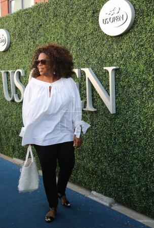 Oprah Winfrey attends US Open