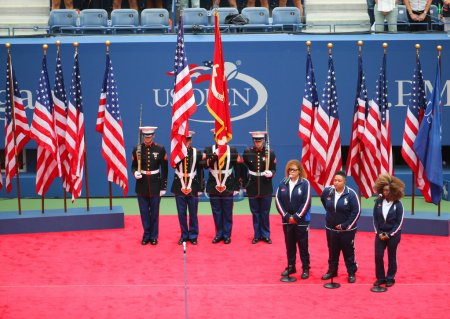 The Color Guard of the