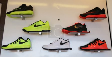 Nike presented new tennis shoes