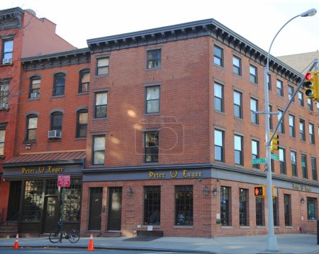 Michelin Star awarded Peter Luger Steak House located in the Williamsburg, Brooklyn