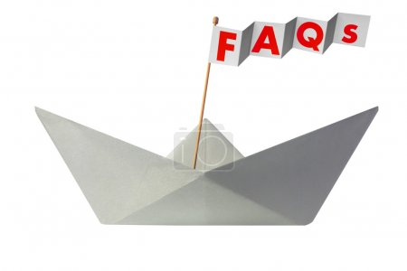 Origami paper boat with flag writing FAQs
