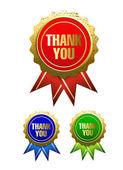 Děkuji odznak