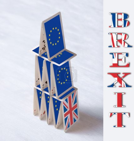 collage on event June 23 Brexit UK EU referendum concept: will t