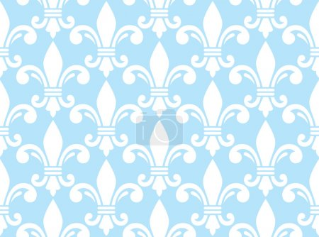 Vector repetitive background - French traditioanl ...