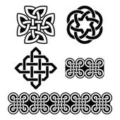 Celtic Irish patterns and knots - vector St Patrick's Day