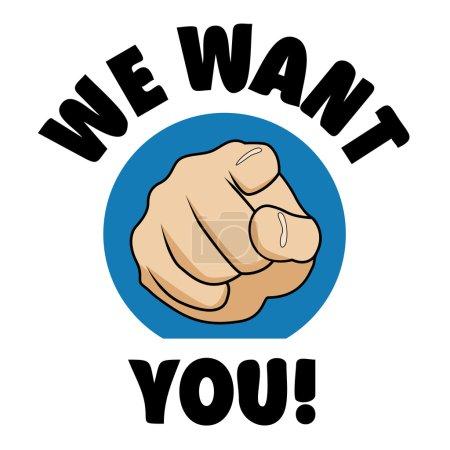 Nous voulons que vous