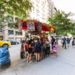 New York City, USA - August 3, 2013:People queuing...