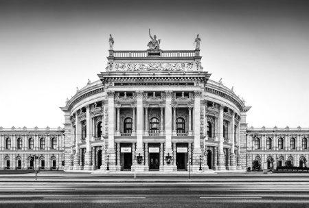 Burgtheater (Imperial Court Theatre) in Vienna, Austria