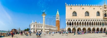 Piazzetta San Marco with Doge's Palace and Campanile, Venice, Italy