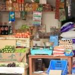 GODAWARI, NEPAL - OCTOBER 15: Grocery shop open to...