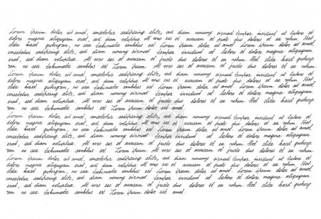 Handwriting Manuscript texture
