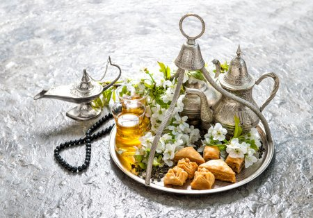 Ramadan kareem. Eid mubarak. Islamic holidays decoration