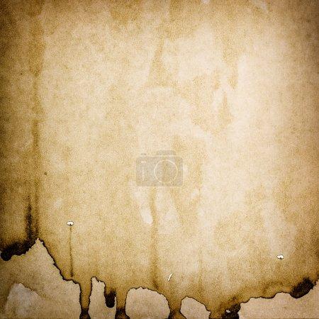 Photo pour Grungy utilisait la texture du papier. Fond aquarelle teinté - image libre de droit