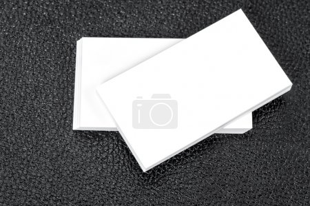 Blank business cards. Mock up for your informations