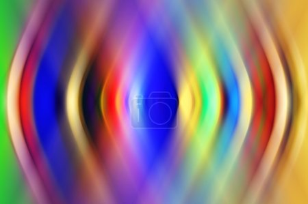 Defocused lights from christmas decorations. abstract shiny back