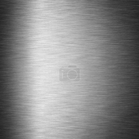 Foto de Metal cepillado textura. Acero brillante Resumen antecedentes - Imagen libre de derechos