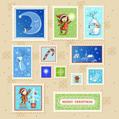 Christmas Postmarks Collection