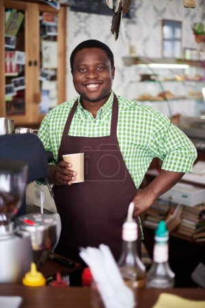 coffee shop owner