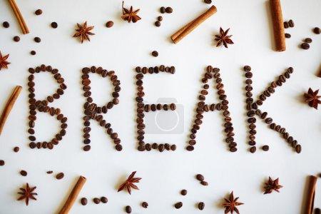 Word break of coffee