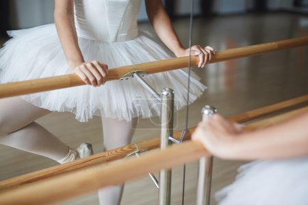 dancer practicing ballet
