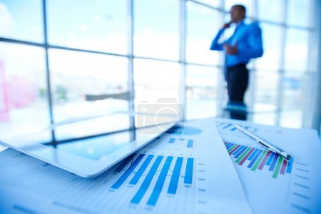 Digital tablet and financial documents