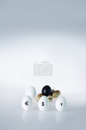 Powerful currencies on eggs
