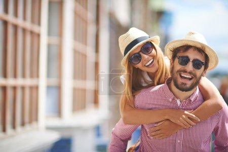 girl and her boyfriend