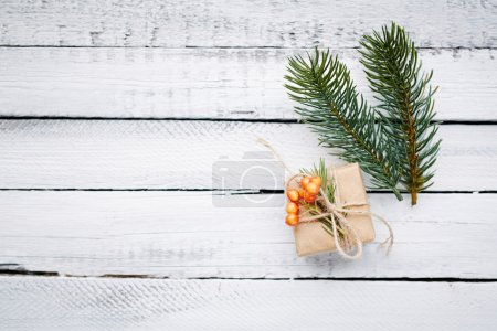 christmas fir tree branches