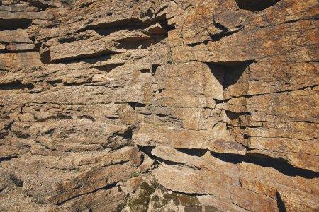 Photo pour Granit montagne roches fond - image libre de droit