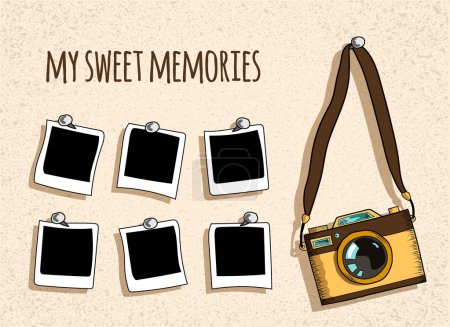 camera and slides