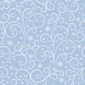 Zimní modrá vzor