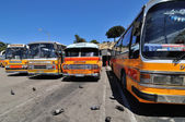 Legendární a kultovní Malta veřejné autobusy