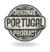 Abstract stamp with text Original Product of Portugal